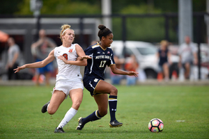 Sydney Brackett missed all three of the shots she took in Syracuse's 1-1 draw against No. 2 Florida State. The tie broke a four-game losing streak for the Orange.