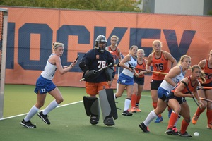 Regan Spencer's .799 save percentage has helped the Orange enter the postseason strong in its national title defense.