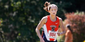Madeleine Davison is looking to get back on track with the NCAA Regional race on Friday. She started the season as Syracuse's top finisher in its first three races, but has recently gone through a slump.