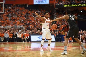 John Gillon added 13 points in the losing effort.