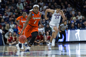 In orchestrating one of Syracuse women's basketball most dominant seasons, Peterson picked up numerous ACC honors and lifted SU to its eighth straight 20-win season.