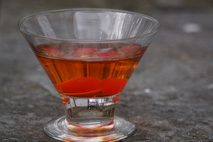 The Syracuse, a fake version of the Manhattan, looks like the real thing but packs a completely different taste.