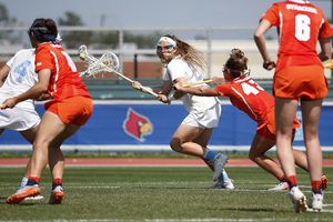 Molly Hendrick scored seven goals against Syracuse, tearing apart the Orange defense en route to a career day.