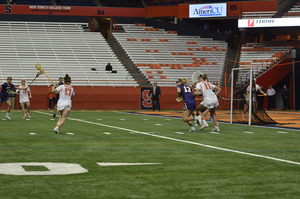 Riley Donahue had a team-high four goals to carry Syracuse to victory.