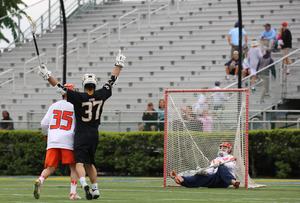 The Orange had only felt the sting of defeat twice this season. An uncharacteristically sloppy first quarter put Towson up 6-0 and doomed the Orange, which scored its fewest goals in a game this season.