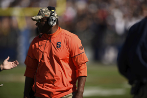 Ravian Pierce, once a four-star recruit on ESPN, found his way to Syracuse after two years in junior college, and not a moment too soon for Dino Babers.