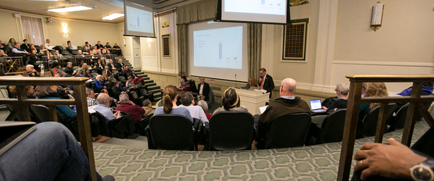 University Senate members clash over provost's comments, meeting rules